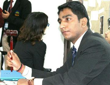 CENMUN Chairperson : Abhishek Puri