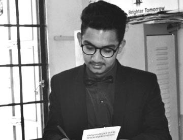 CENMUN Vice Chairperson - Siddharth Jain